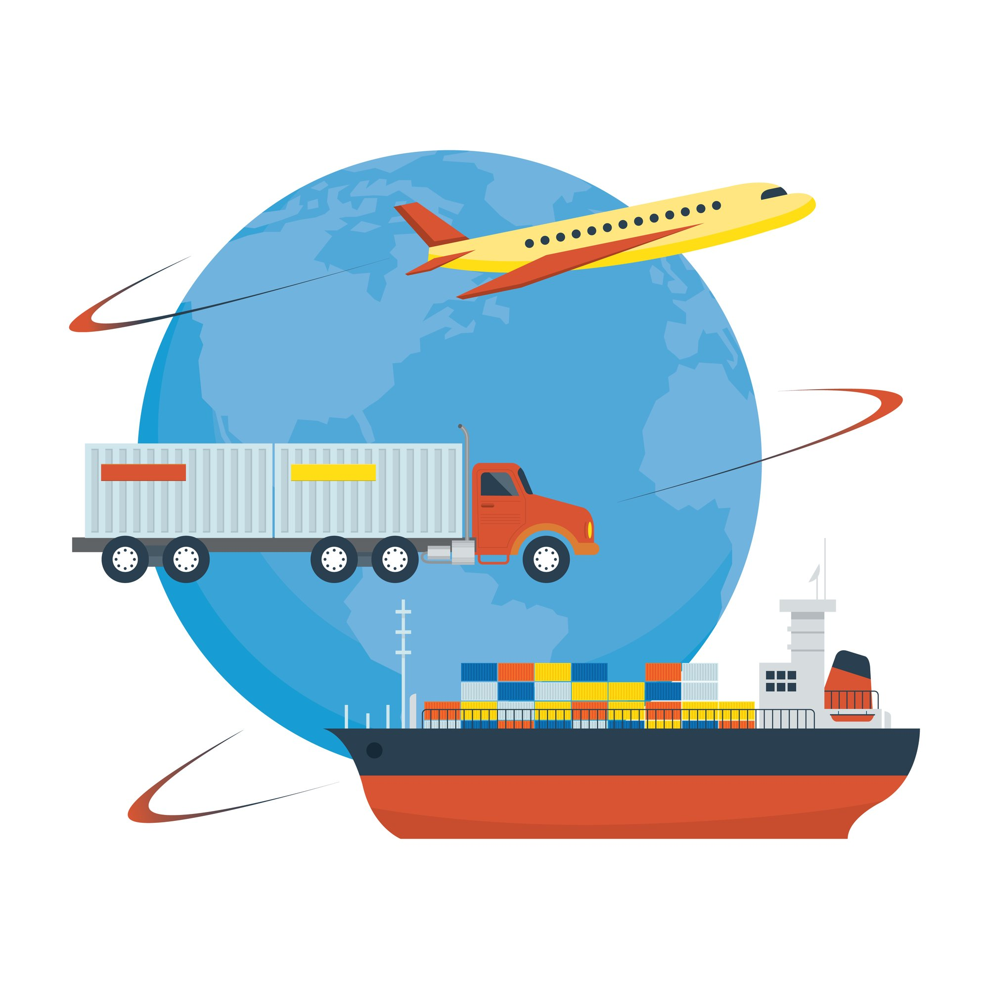 Intermodal Is The Use of Multiple Transportation Modes To Move Freight